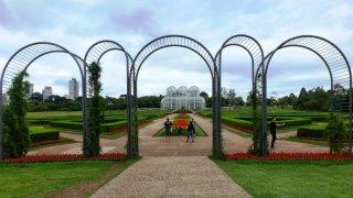 Jardin botanique de Curitiba – Brésil