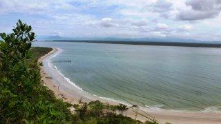 Plages à Ilha do Mel – Sud du Brésil