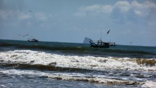 Pêcheurs de crevettes – Superagüi, Brésil