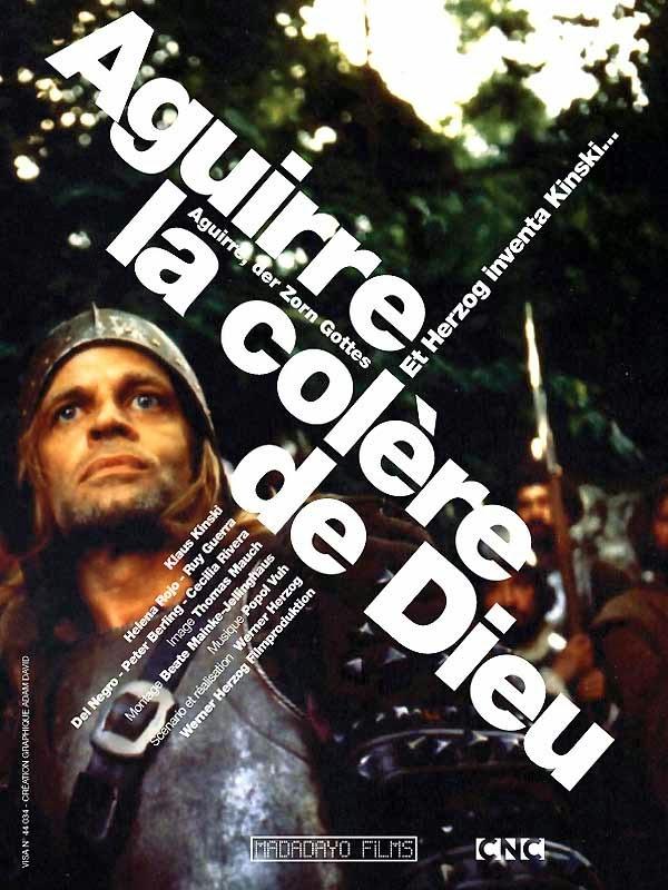 """Affiche du film """"Aguirre, la colère de Dieu"""" – Costa Rica"""