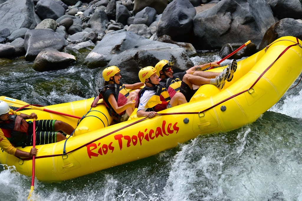 Team Terra Caribea – rio Pacuare