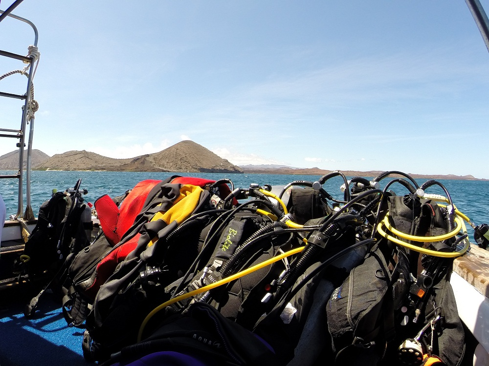 A bord – Plongée Galapagos