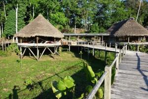 Cabanes Kapawi – Equateur