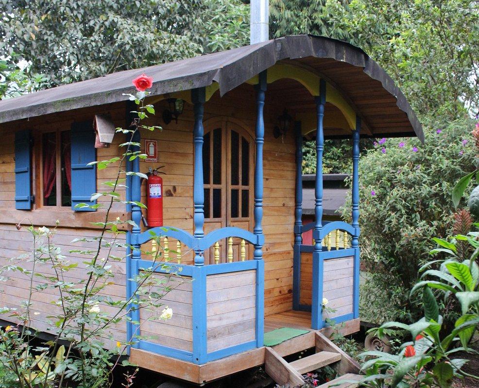 Hosteria La Roulotte – Mindo, Equateur