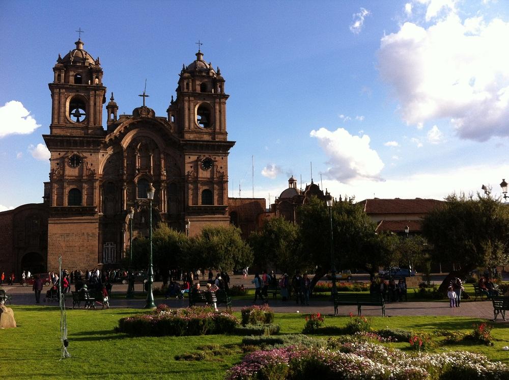 La place principale de Cusco – Pérou