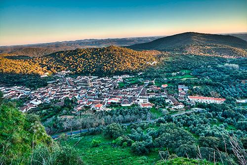 Village d'Alajar – Andalousie, Espagne