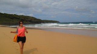 Allez on court pour avoir la meilleure place sur la plage !