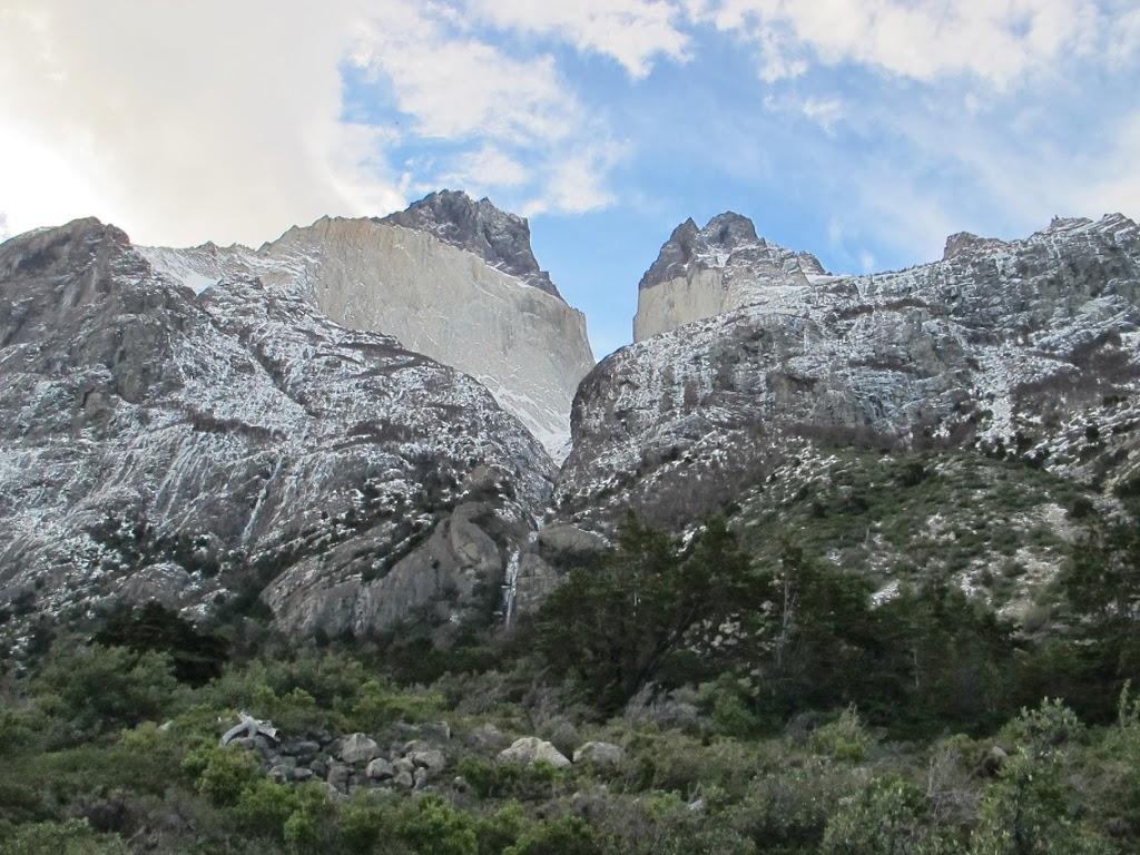 Les cornes du Paine en plein jour – Parc Torres del Paine, Chili