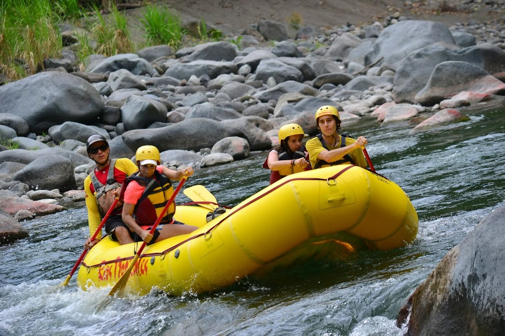 Rafting en mode relax – team Terra Caribea au Costa Rica