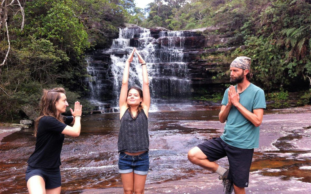 Cours de yoga dans la Chapada – voyage Nordeste Brésil