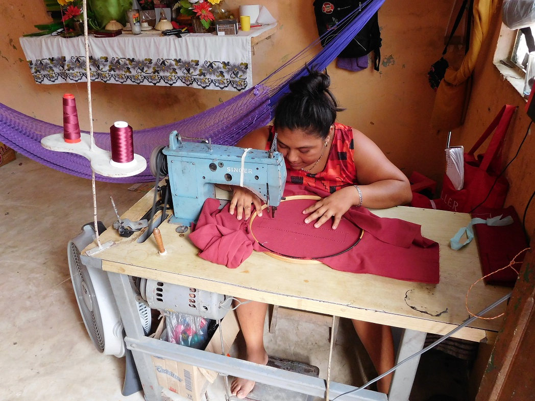 On travaille le plus souvent en famille et à la maison – Décoyverte du Yucatan
