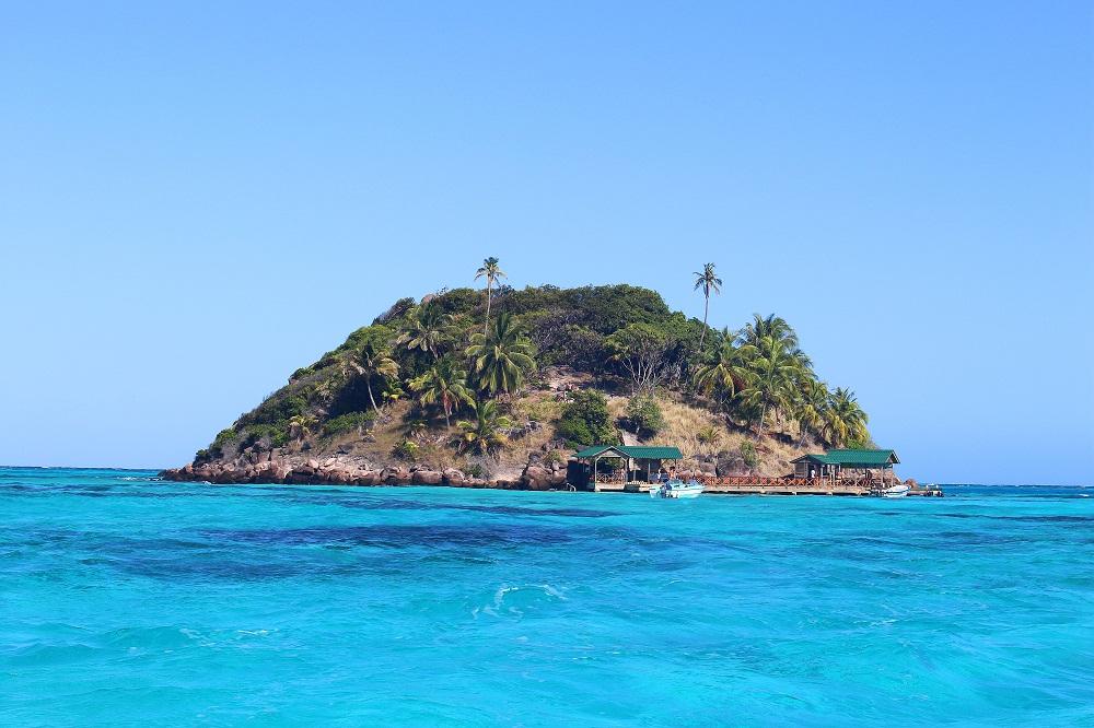 Cayo Cangrejo ou petit îlot du crabe, Colombie