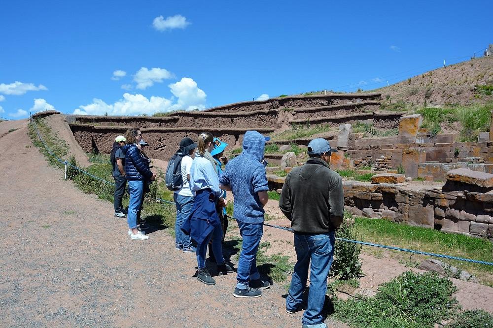 L'équipe Terra Bolivia, Tiwanaku