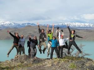 La joyeuse troupe des randonneurs Terra Chile & Terra Argentina