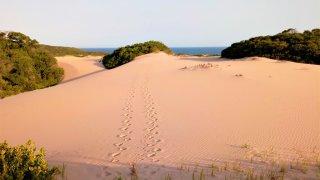 Coucher de soleil aux Dunes de Dovela