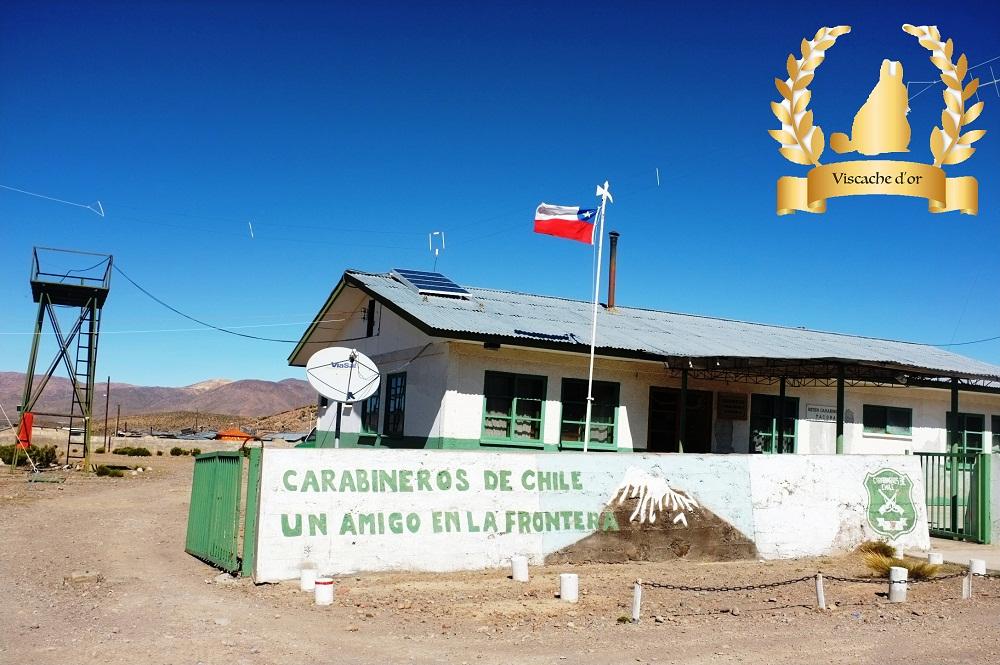 Frontière Chili – Pérou (merci nos amis les policiers!)