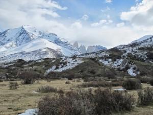 Arrivée au camping Las Torres, première vue sur les tours