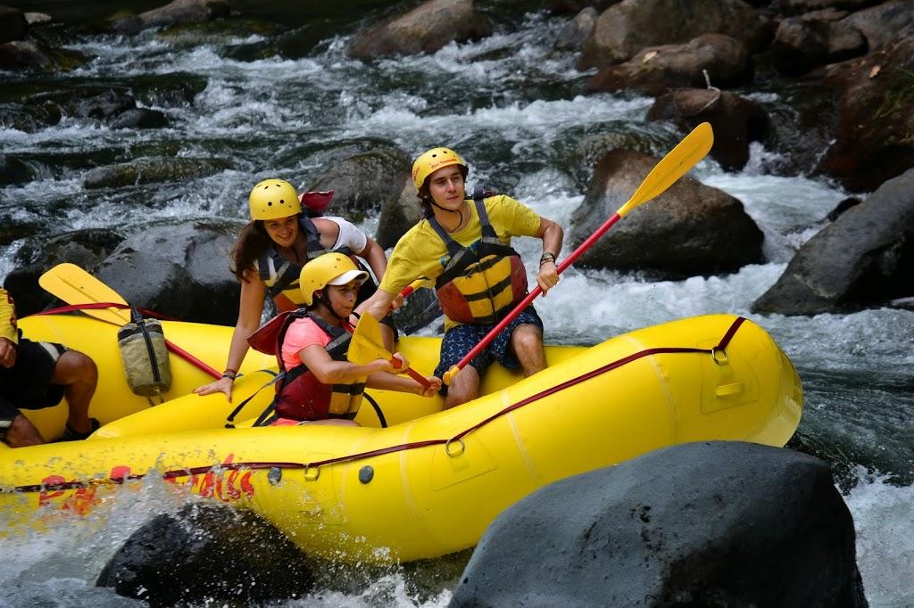 Panique en rafting – rio Pacuare, Costa Rica