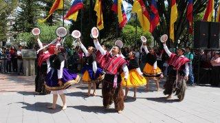 Spectacle de danses folkloriques à Cuenca – Equateur