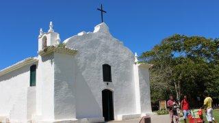 """Eglise du """"Quadrado"""" à Trancoso – Brésil"""