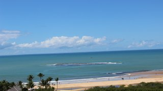 Vue du Quadrado à Trancoso – Sud de Bahia