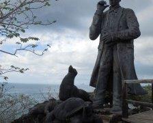 Charles Darwin à San Cristobal – Galapagos