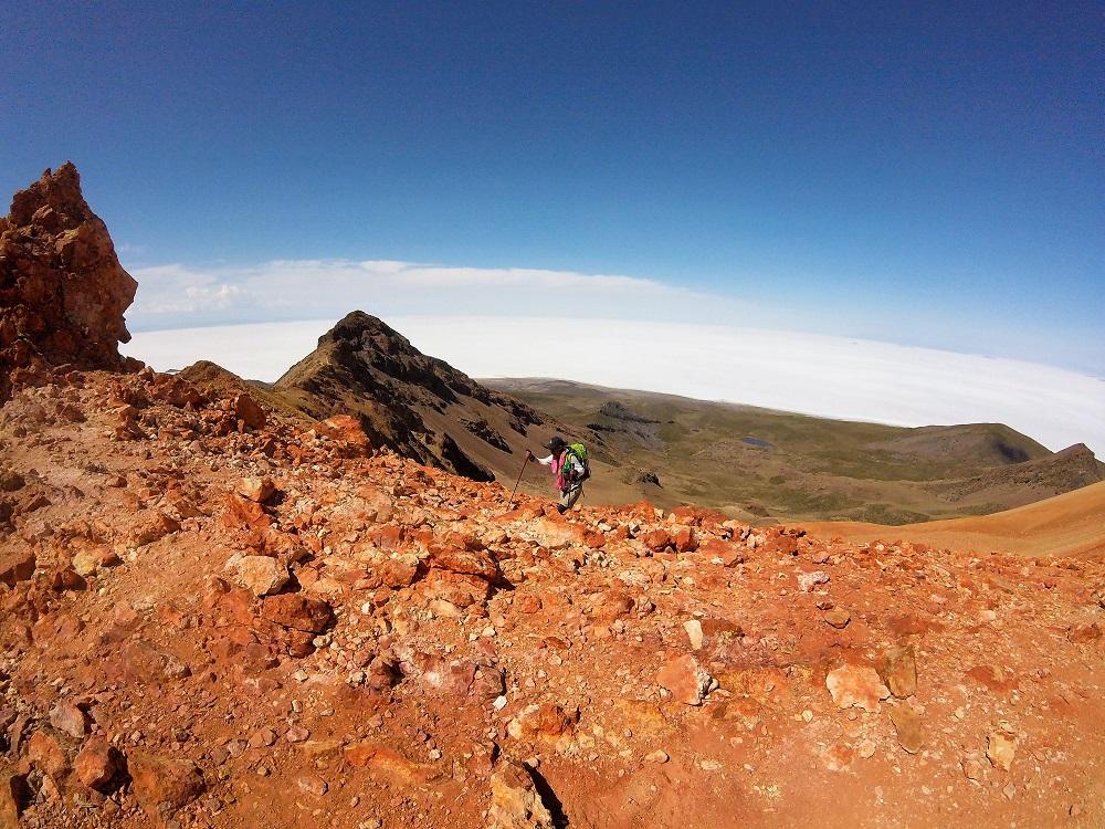 Maria, notre guide locale pour l'ascension du volcan Tunupa