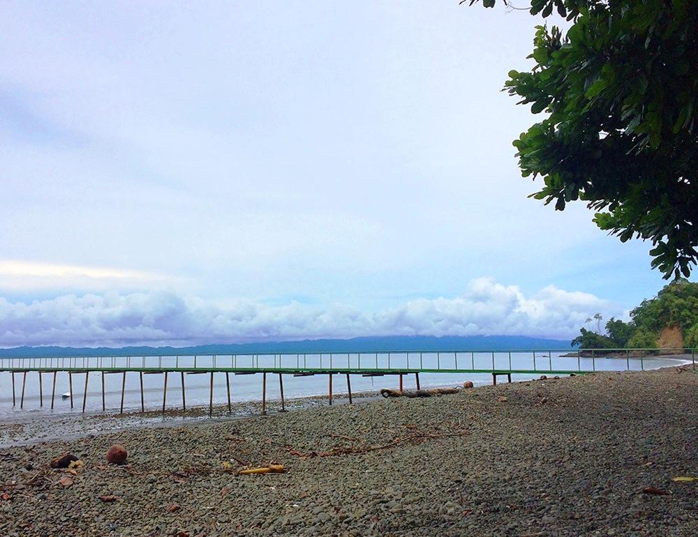 Arrivée à Playa Nicuesa – Costa Rica