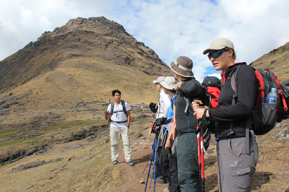 Briefing de Percy, notre guide des montagnes – Pérou