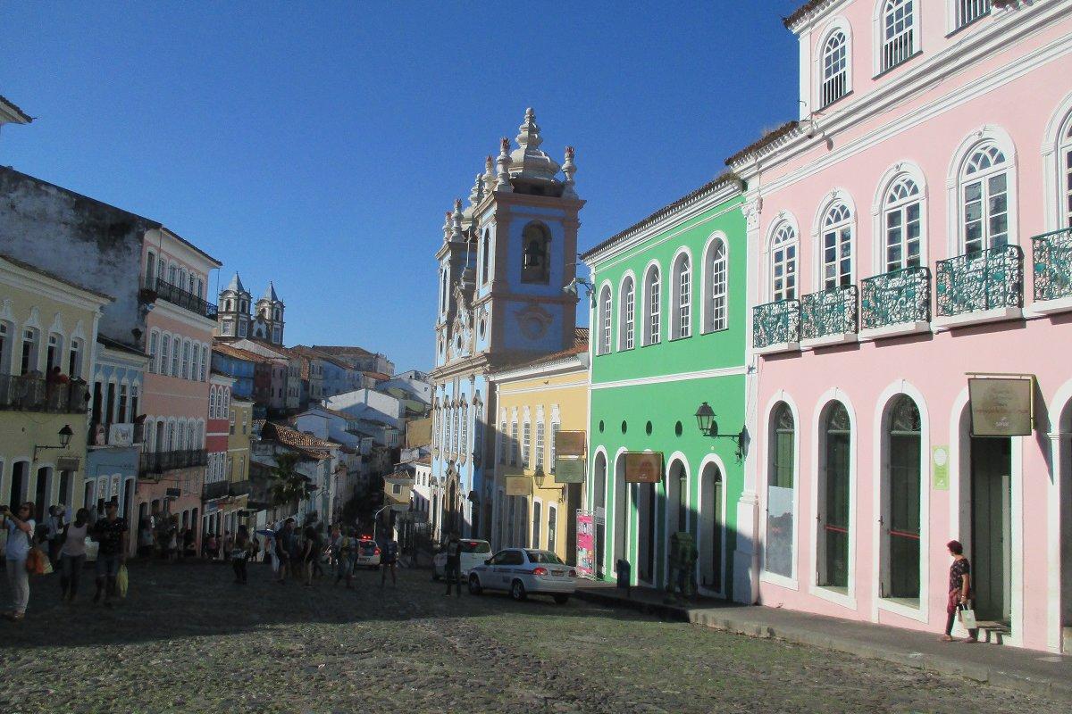 Le Pelourinho, centre historique de Salvador de Bahia – voyage de noces à Bahia au Brésil