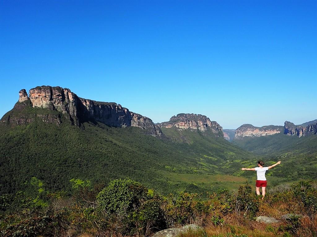 Panorama grandiose dans la Vale do Pati – voyage dans les parcs du Nordeste au Brésil