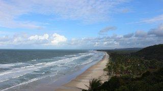 Côte entre Ilhéus et Itacaré – Brésil