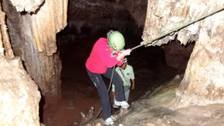 Exploration de la caverne d'Umajalanta – Bolivie