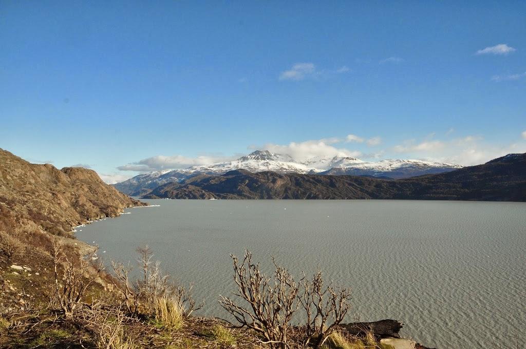Vue depuis la crête – Parc Torres del Paine, patagonie chilienne