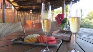 Cocktail de bienvenue pour bien commencer le séjour à Fernando de Noronha, Brésil