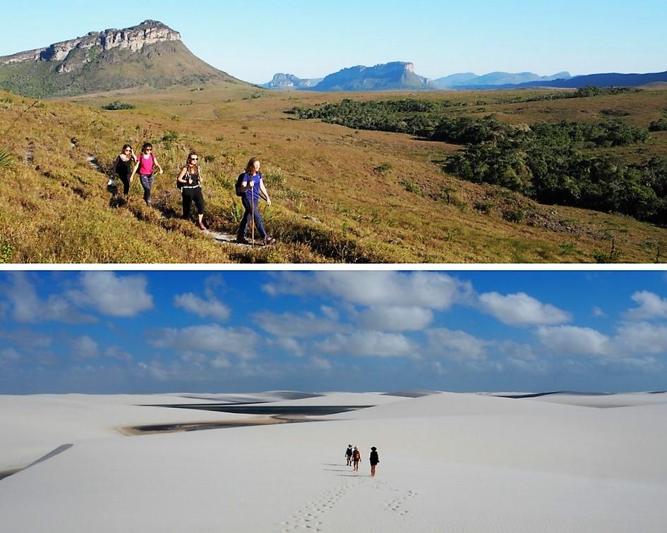 Des kms de marche – voyage dans les parcs du Nordeste au Brésil