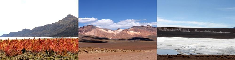Déserts du Sud Lipez en Bolivie