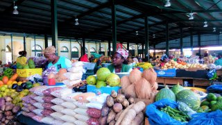 Mercado central do Maputo