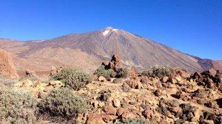 Volcan El Teide, du haut de ses 3.718 mètres d'altiude – Canaries