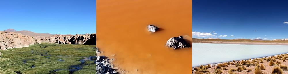 Lagunes colorées du Sud Lipez – Bolivie