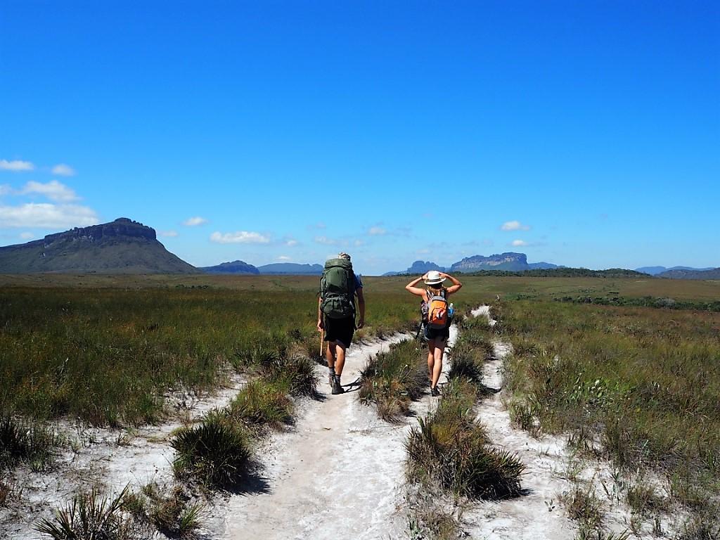 Sentier de randonnée dans la Chapada Diamantina – voyage dans les parcs du Nordeste au Brésil