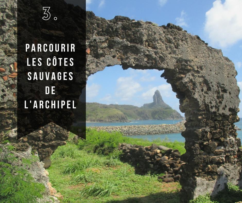 Côtes sauvages de l'archipel, Fernando de Noronha