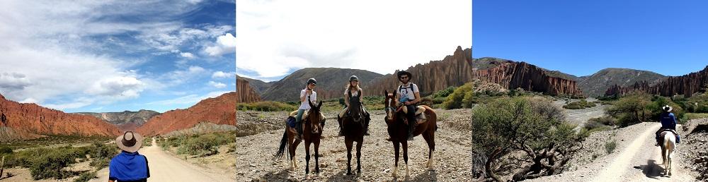 Randonnée à cheval dans la région de Tupiza – Bolivie