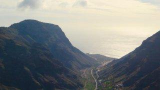 Sur les toits de la Gomera aux Îles Canaries