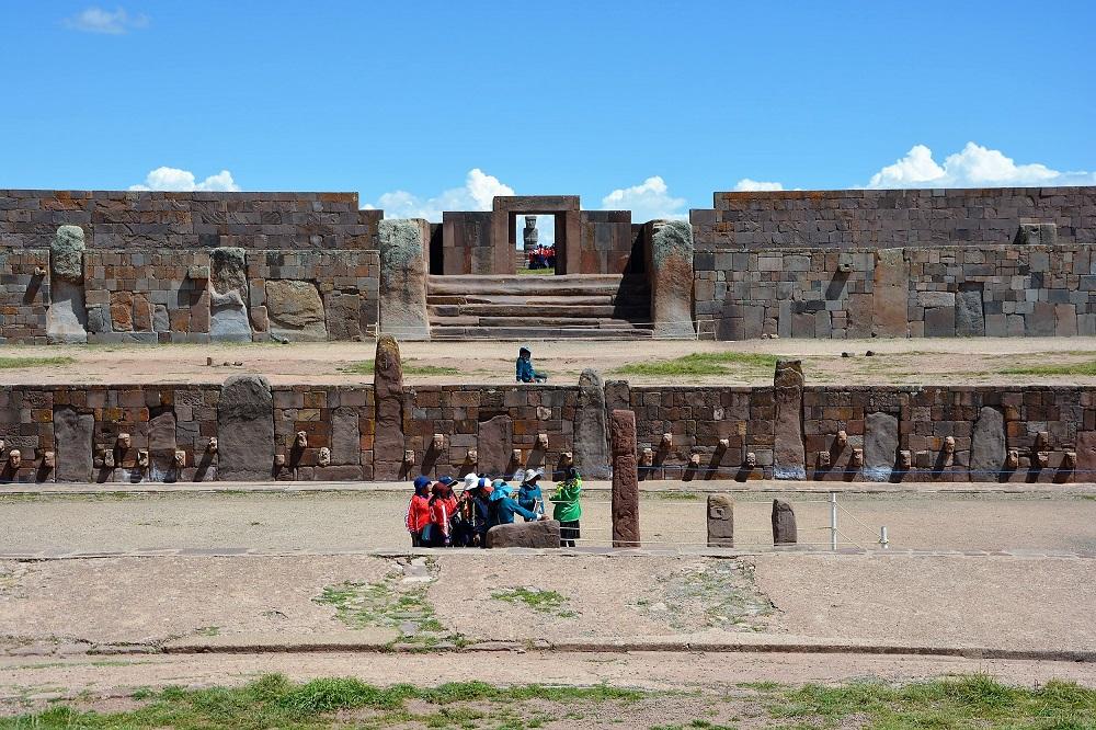 Ruines du temple de Kalasasaya, Tiwanaku