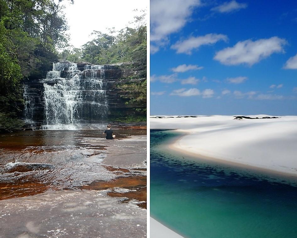 Des heures de baignade – voyage dans les parcs du Nordeste au Brésil