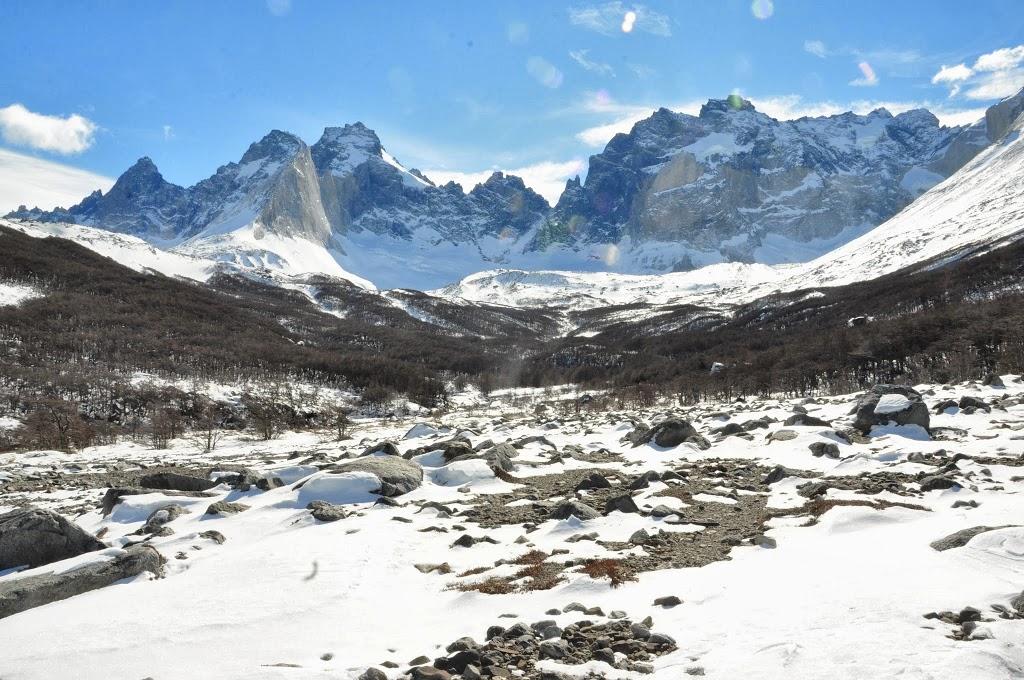 Vallée du Français, enneigée – Patagonie, Chili