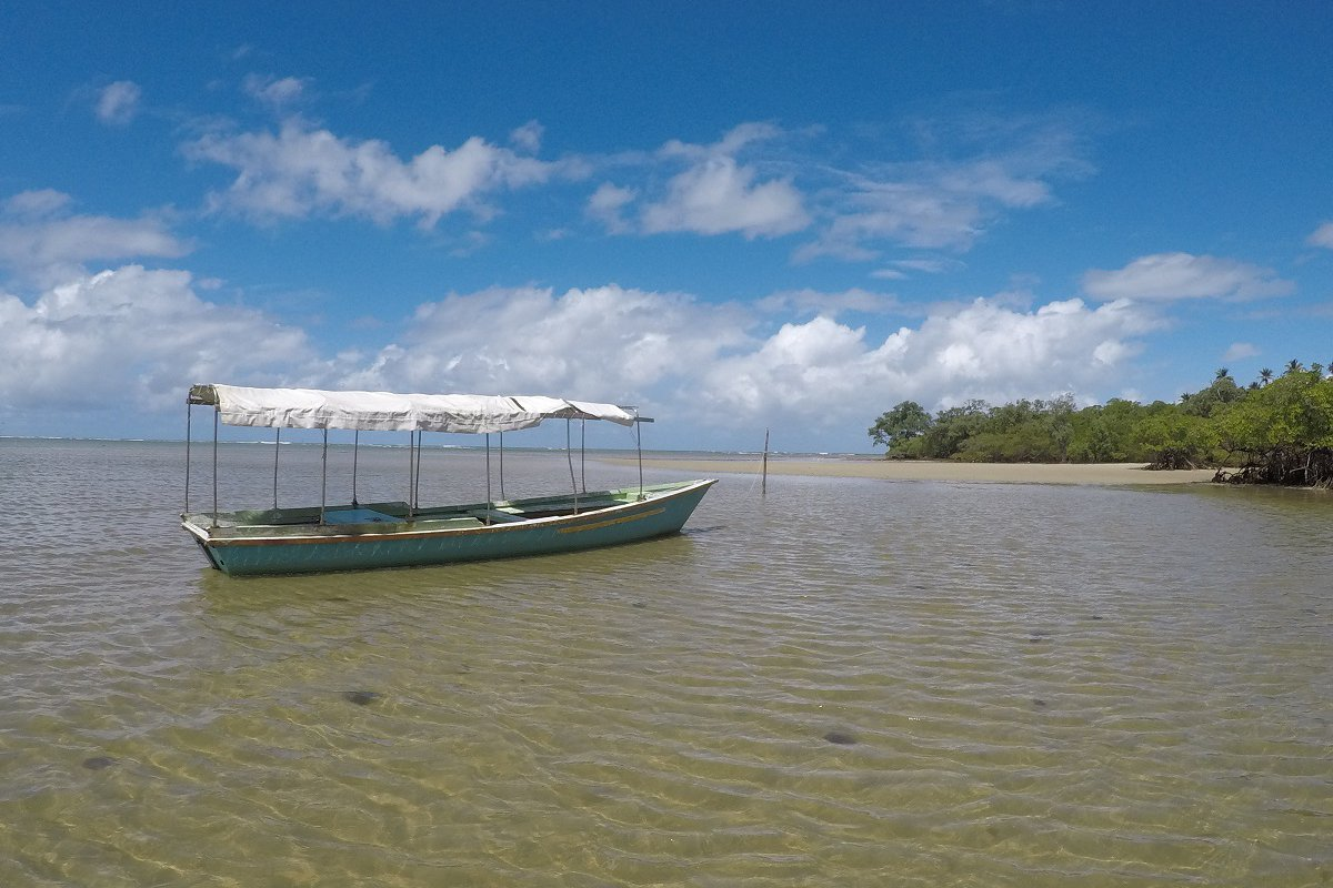 Plage de Moreré à Boipeba – voyage de noces à Bahia au Brésil