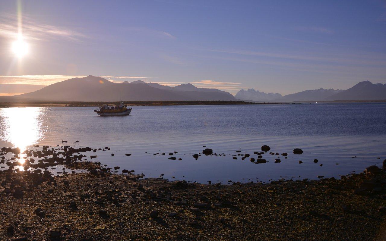 Puerto Natales – entre le golfe Almirante Montt et le bras de mer Ultima Esperanza