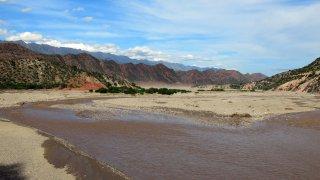 Sur la route de Toro Toro – Bolivie